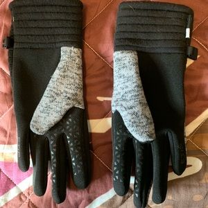Womans northface gloves